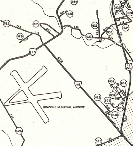 VA 118 (1958 Roanoke County)