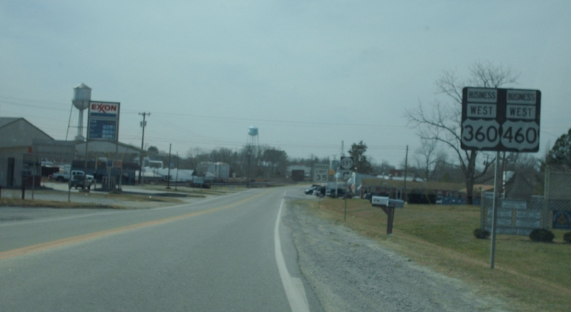 US 360-460 Bus view